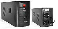ИБП Ritar RTM500 (300W) Standby-L ЛЕД AVR 1st 2xSCHUKO socket 1x12V4.5Ah metal Case Q4 Черный