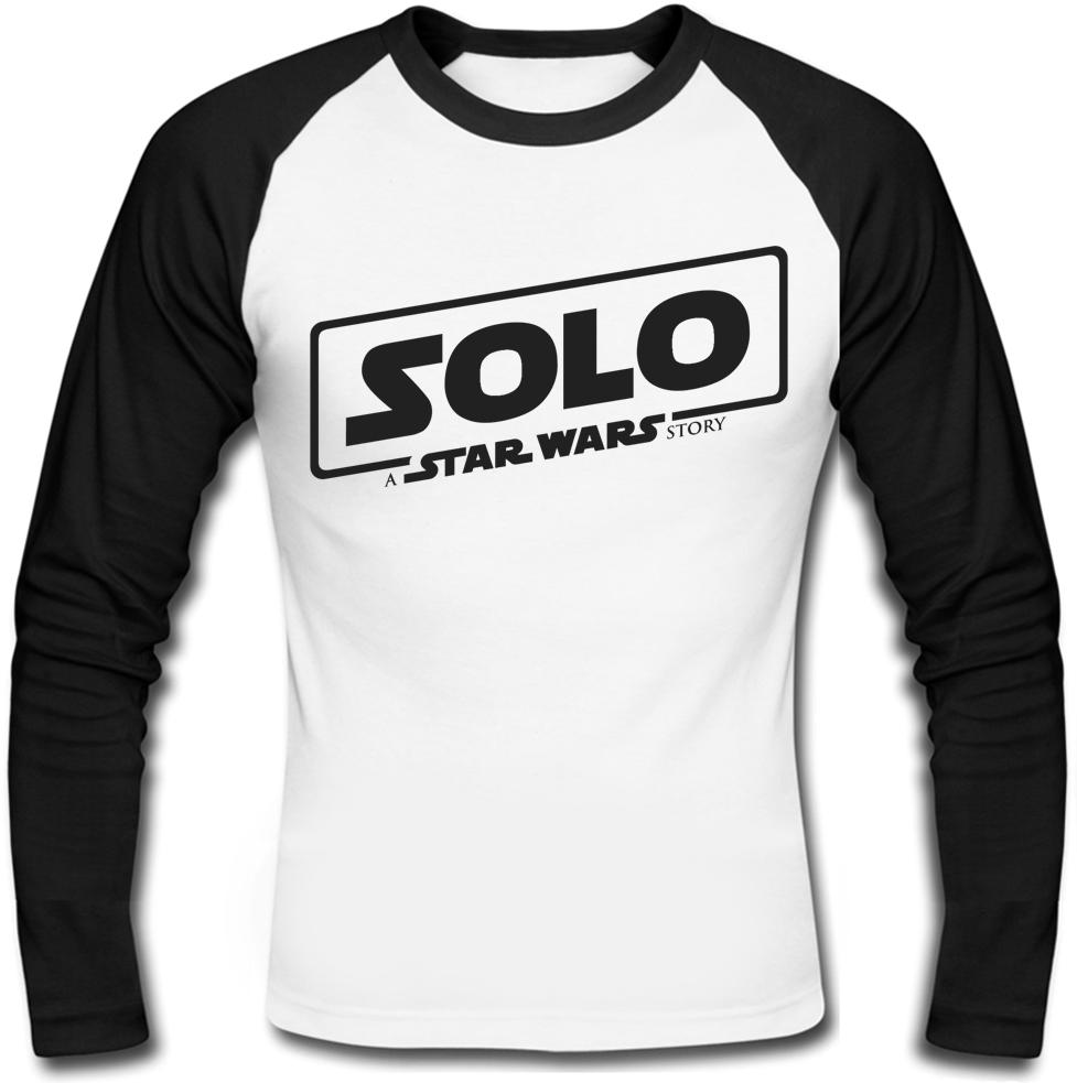 Футболка с длинным рукавом Solo: A Star Wars Story - Black Logo