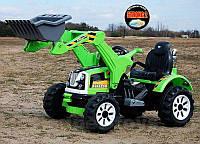 Детский электромобиль трактор с ковшом KINGDOM 12V JS328A, фото 1