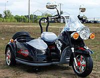 Детский электромобиль мотоцикл МТ10 с коляской, фото 1