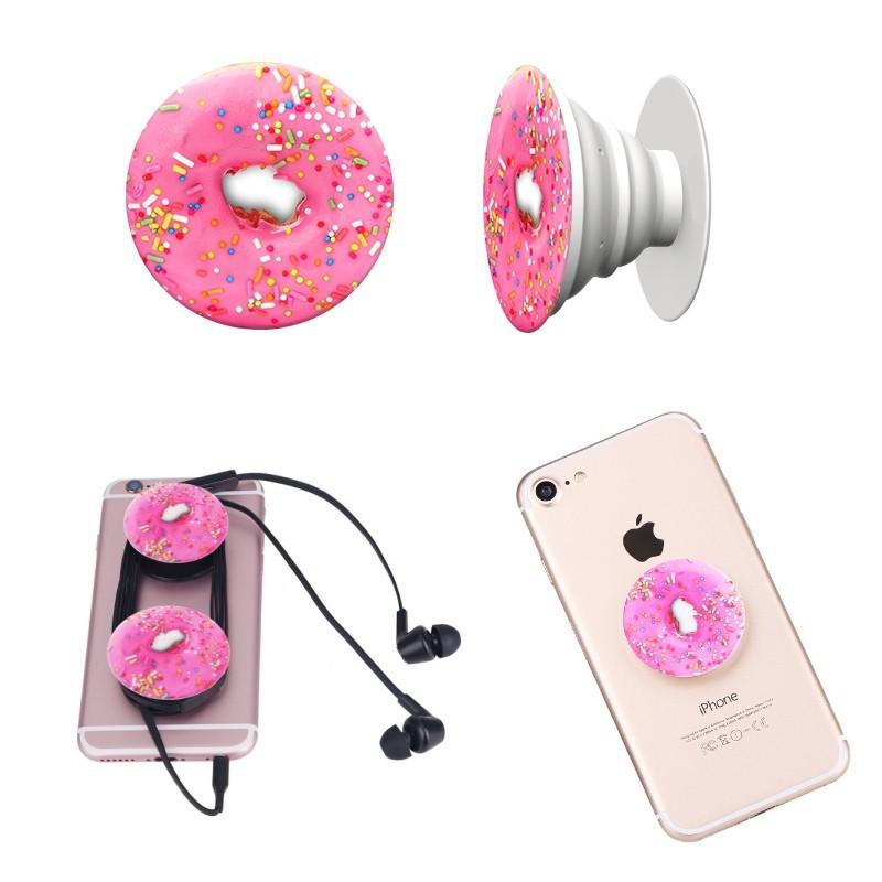 Универсальный держатель-подставка для телефона PopSockets (Присоска крепление для смартфона Поп Сокетс) С81