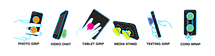 Универсальный держатель-подставка для телефона PopSockets (Присоска крепление для смартфона Поп Сокетс) С81, фото 2