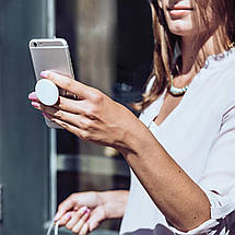 Универсальный держатель-подставка для телефона PopSockets (Присоска крепление для смартфона Поп Сокетс) С81, фото 3