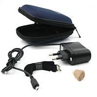 Слуховой аппарат внутриушной Axon K-88 с зарядкой и аккумулятором