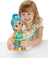 Інтерактивна лялька Шайн танцююча (сині волосся) Fisher-Price Nickelodeon Shimmer & Shine, Genie Dance Shine