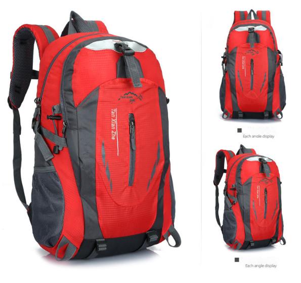 Рюкзак спортивный походный велосипедный красный