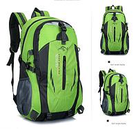 Рюкзак спортивный походный велосипедный зелёный, фото 1