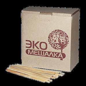 Мішалка  дерев`яна  ECO 14 см. 5,5мм 1000шт BOX
