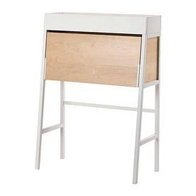 IKEA, IKEA PS 2014, Бюро, белый, березовый шпон, 90x127 см (80260701)(S802.607.01) ИКЕА ПС 2014