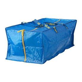 IKEA, FRAKTA, Сумка для тележки, синий, 76 л (90149148)(901.491.48) ФРАКТА ИКЕА