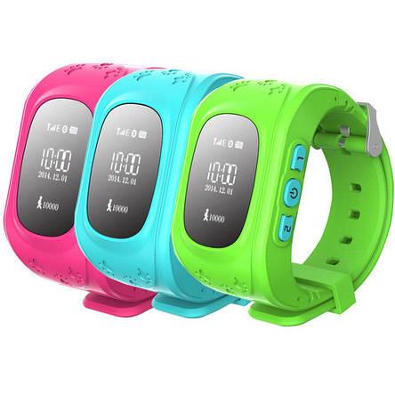 Детские умные GPS часы Smart Baby Watch Q50 с трекером отслеживания (зеленые). РУССКАЯ ВЕРСИЯ, фото 2