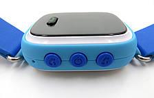 """Детские умные GPS часы Smart Baby Watch Q60 с трекером отслеживания цветной экран 1"""" (синие), фото 3"""