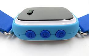 """Детские умные GPS часы Smart Baby Watch Q100 с трекером отслеживания цветной сенсорный экран WiFi  1"""" (синие), фото 2"""
