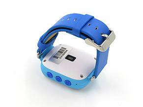 """Детские умные GPS часы Smart Baby Watch Q100 с трекером отслеживания цветной сенсорный экран WiFi  1"""" (синие), фото 3"""