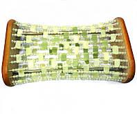 Нефритовая подушка-валик