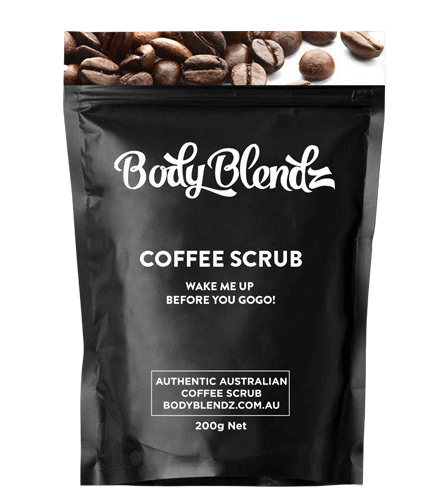Кофейный скраб для тела - Body Blendz от целлюлита и растяжек 100 грамм