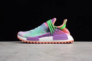 Кроссовки женские Adidas Human Race NMD x Pharrell Williams / ADW-1649 (Реплика)