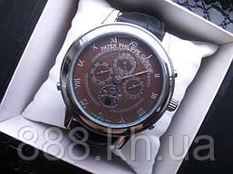 Часы Patek Philippe Silver Brown