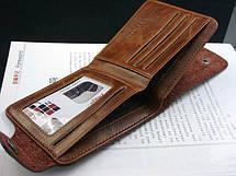 Мужской кошелек портмоне Bailini 501 без вырезов с верхней застежкой, фото 2