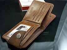 Мужской кошелек портмоне Bailini 501 без вырезов с верхней застежкой, фото 3