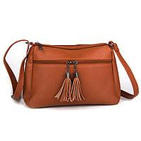 Женская сумочка через плечо Amanda (GH542 brown)