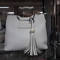 a4a0c8980f6f РАСПРОДАЖА Сумка белая кожаная женская на два отдела хорошее качество по низкой  цене