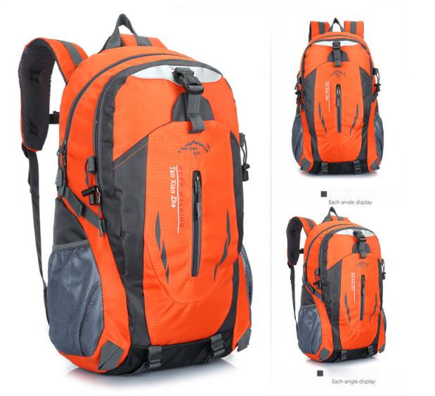 Рюкзак спортивный походный велосипедный оранжевый