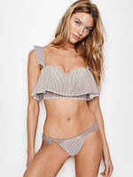 Трусики Stripe Thong Panty Pebble Violet W/ Stripes Victoria's Secret (S)