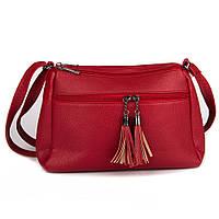 Женская сумочка через плечо Amanda (GH542 red)