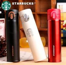 Термос Starbucks (Тамблер Старбакс) 380 мл красный, фото 2