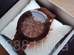 Часы Geneva шоколад 3000