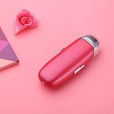 Портативный ультразвуковой увлажнитель Nanum с функцией массажа для лица 3.7В 400 мА Красный, фото 3