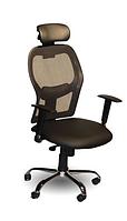 Офисное кресло для руководителя Пилот New хром