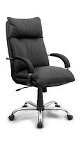 Офисное кресло для руководителя Надир хром