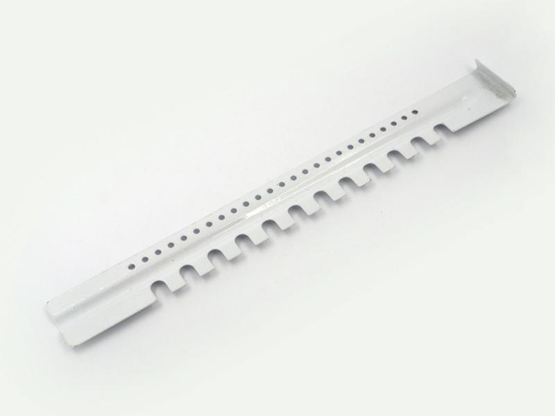 Заградитель 2-х элементный нижний с полимерным покрытием