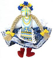 Кукла-мотанка КЛЮЙ Долюшка 7 см Разноцветная (K0012D)