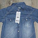 Рубашка для мальчика из облегченного джинса, фото 2