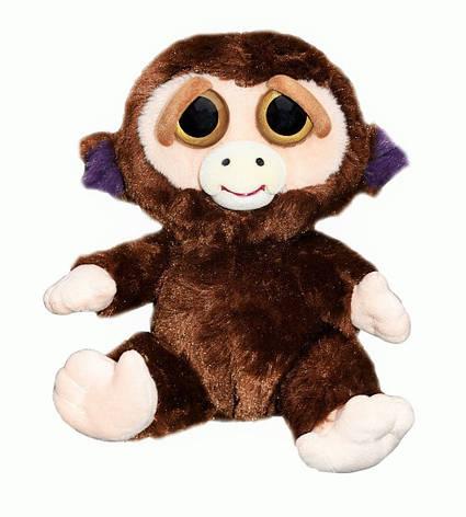 Интерактивная игрушка Feisty Pets Добрые Злые зверюшки Плюшевя Обезьяна Фанк 20 см, фото 2