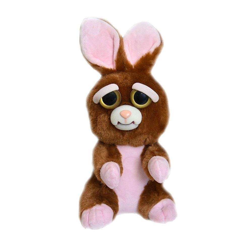 Интерактивная игрушка Feisty Pets Добрые Злые зверюшки Плюшевый Кролик 20 см