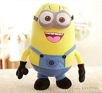 """Мягкая плюшевая игрушка Minions Миньон Дейв """"Гадкий Я"""" с 3D глазами 50 см (SUN0143)"""