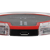 Зарядное устройство FANTASY K9 Беспроводная QI зарядка для iPhone, Samsung 10W Черная, фото 2