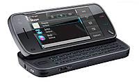 Корпус для телефона Nokia N97 черный с клавиатурой High Copy