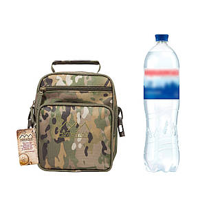 Тактическая военная сумка Hinterhölt Jab (Хинтерхёльт Джеб) плечевая на ремне Хаки Мультикам (SUN90093), фото 2