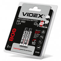 Аккумуляторы Videx HR03/AAA 800mAh double blister/2шт