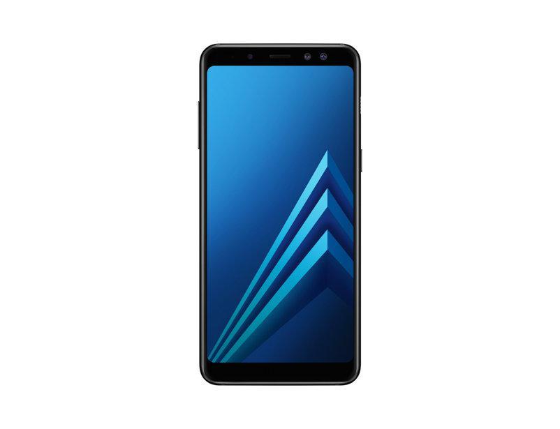 """Смартфон Samsung Galaxy A8 2018 4/32GB Black, 16/16+8Мп, 5,6"""" AMOLED, 3000mAh, 2sim, Exynos 7885, 4G, 12 мес."""