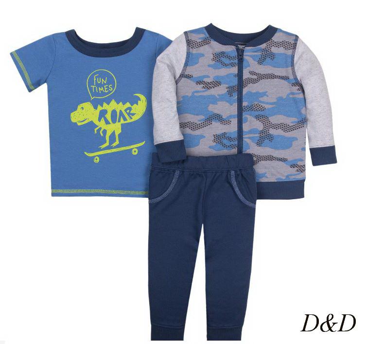 Комплект одежды для мальчика 6-9 месяцев Little Star Organic