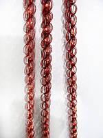 1 см диаметр Колосок дождик Красный