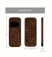 SOYES M11  кожаный деревянный  ультратонкий