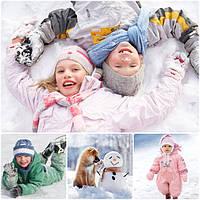 Зимние термокомбинезоны для девочек, костюмы