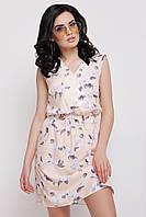 Женский сарафан с цветочным принтом Milena FashionUp  42-48  размеры